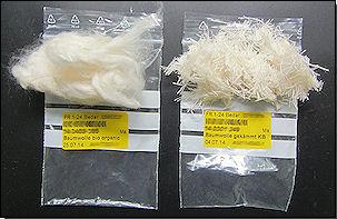 Baumwollfasern und -garn