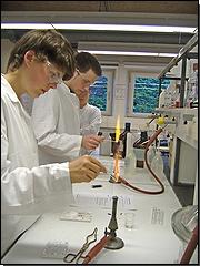 Chemielaborantenausbildung