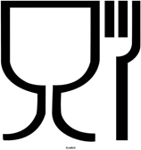 Abbildung 4: Glas-Gabel-Symbol.