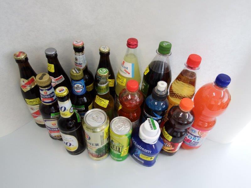 Abbildung 1: Isotonische Getränke.
