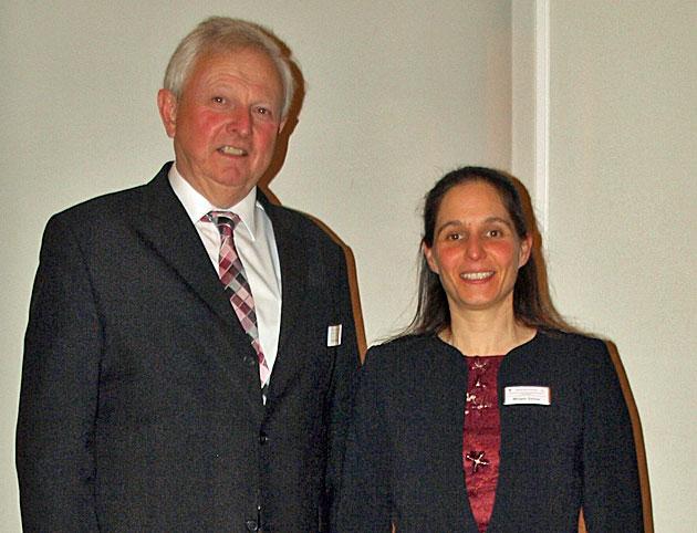 Foto: Bernfried Glück und Mirjam Zeiher.