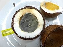 Kokosmark verschimmelt, Quelle: CVUA Sigmaringen.